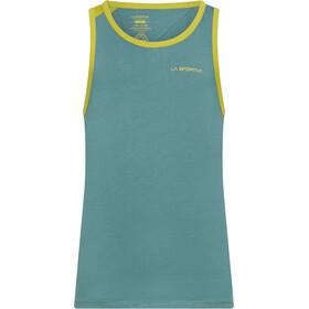 La Sportiva Shimmy Tanktop Heren, pine/kiwi